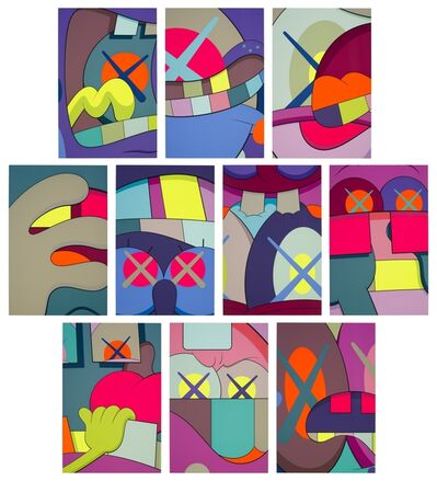 KAWS, 'Ups and Downs', 2013