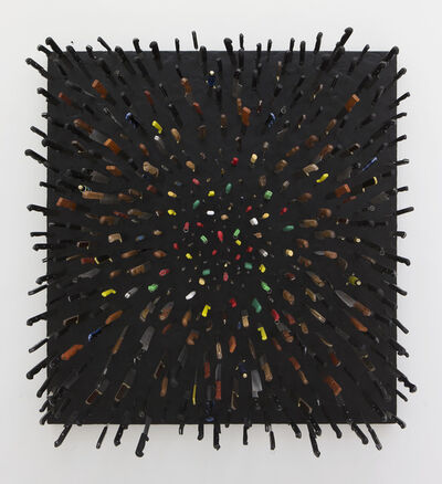 Farhad Moshiri, 'Colored Knives on Black', 2013