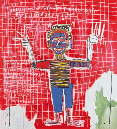Jean-Michel Basquiat, 'RED SAVOY', 1983