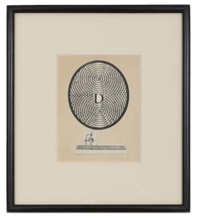 Max Ernst, 'Lettrine D', 1974