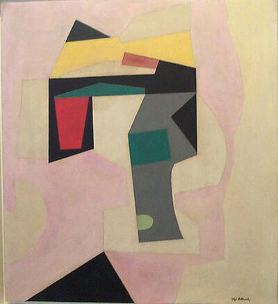 Ilya Bolotowsky, 'Abstraction in Pink', 1939