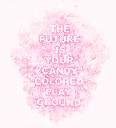 Amanda Manitach, 'The Future Is Your Candy Colored Playground', 2019