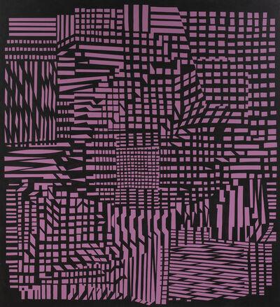 Victor Vasarely, 'Range', 1951/1966-1988