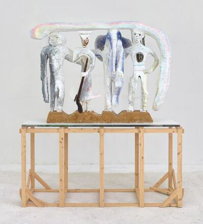 Lin May Saeed, 'Dach der Welt - The Liberation of Animals from their Cages X', 2010