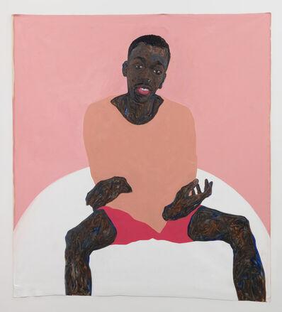 Amoako Boafo, 'Pink Shorts', 2019