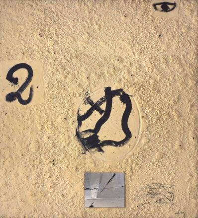 Antoni Tàpies, 'Materia-mirall', 1993