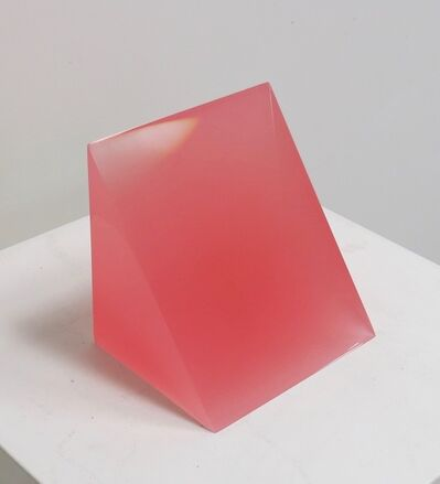 Peter Alexander, '2/16/18 (Pink Wedge)', 2018