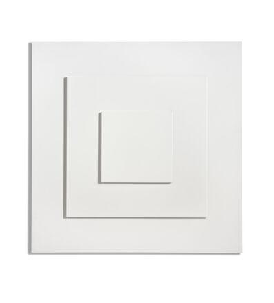 Ad Dekkers, 'Reliëf met drie vierkanten/Relief with three squares', 1972