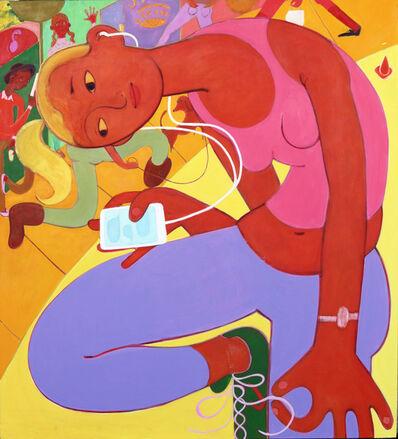 Grace Weaver, 'the vision (after Gauguin)', 2015