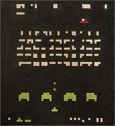 Invader, 'SPACE BATTLE 1', 1999