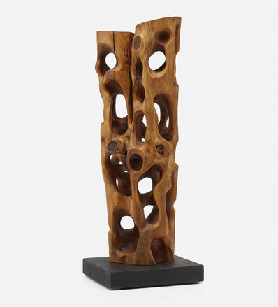 Mario Dal Fabbro, 'Untitled  Carved Wood Sculpture', 1985