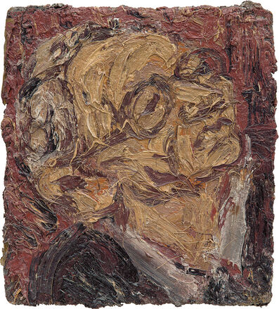 Leon Kossoff, 'Head of Chaim', 1989