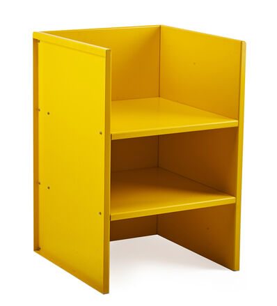 Donald Judd, 'Armchair #47 (yellow)', 1984