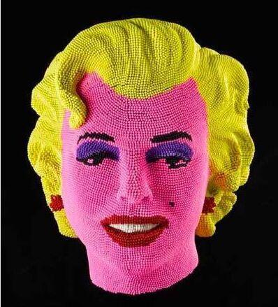 David Mach, 'Marilyn', 2011
