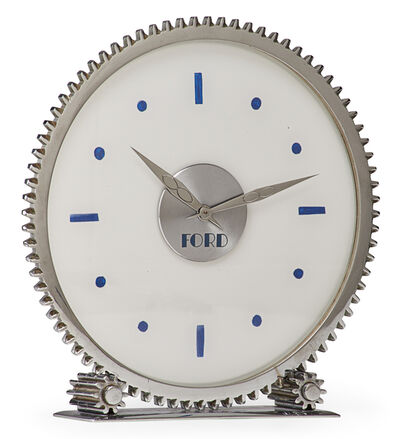 Jean Perzel, 'Rare table clock with Ford Motor Company insignia', 1930s