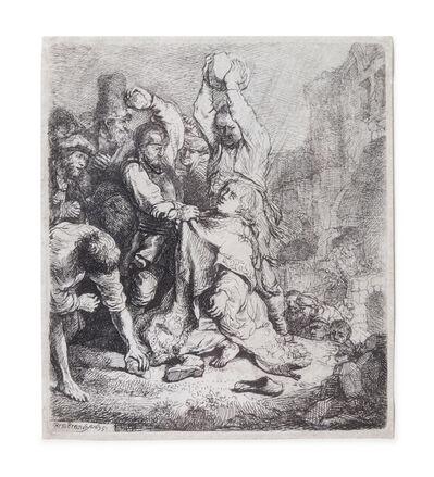 Rembrandt van Rijn, 'The Stoning of St. Stephen', 1635