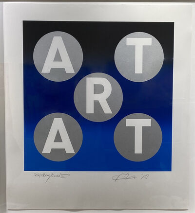 Robert Indiana, 'ART Rainbow Silver', 2014