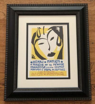 Henri Matisse, 'Maison de la Pensee Francaise Poster', 1959