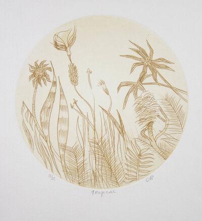 Charles Blackman, 'Tropical', 1980-1990
