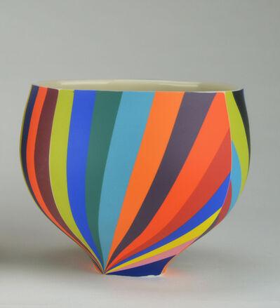 Peter Pincus, 'Four Panel Pinwheel Bowl C', 2020
