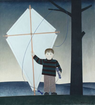 Will Barnet, 'Kite Boy', 1986