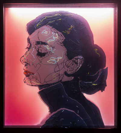 Kang Dong In, 'Audrey Hepburn,55x60x18cm ', 2016