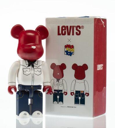 BE@RBRICK X Levi's, '501 400%', 2007
