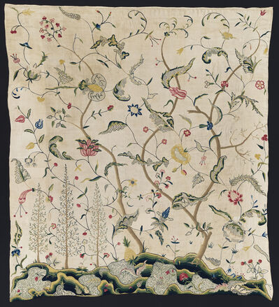 Unknown Artist, 'Wide Bed Curtain (Lowell Family Set)', 1725