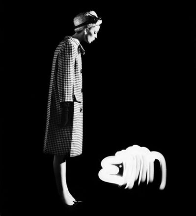 William Klein, 'Dorothy + Light Dog, Paris', 1962
