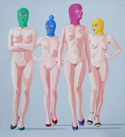 Giuseppe Veneziano, 'Pussy Riot ', 2014