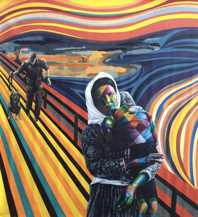 Eduardo Kobra, 'The Refugees' Scream', 2019