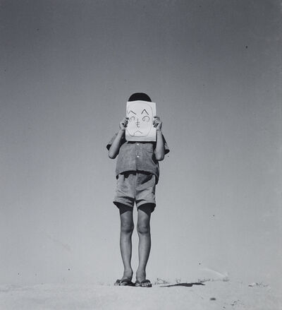Shoji Ueda, 'Doodle Face', 1949