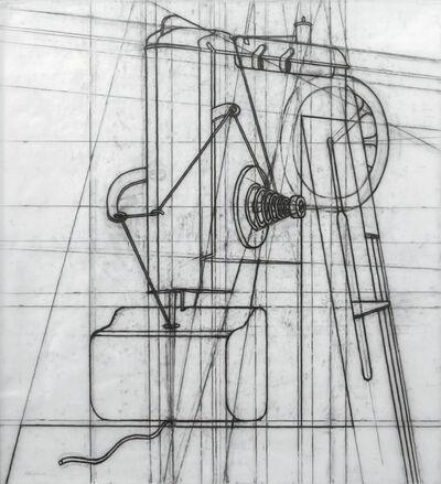 Konrad Klapheck, 'Domina, dessin préparatoire', 2007