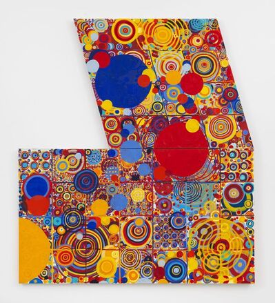 Jennifer Losch Bartlett, 'Red Yellow Blue', 2000-2001