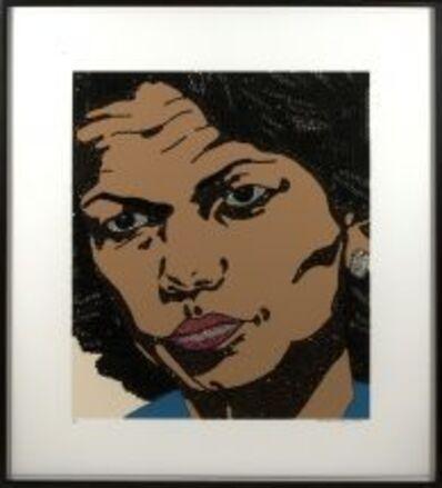Mickalene Thomas, 'Condoleeza Rice ', 2008