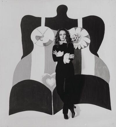 David Bailey, 'Niki de Saint Phalle, Vogue', 1968-printed later