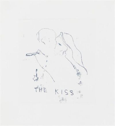 "Tracey Emin, 'TRACEY EMIN ""THE KISS"" SIGNED & NUMBERED BY ARTIST', 2011"
