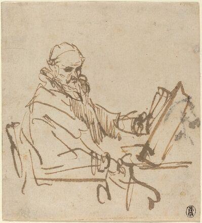 Rembrandt van Rijn, 'Jan Cornelisz Sylvius, the Preacher', 1644/1645