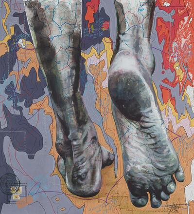 Jean David Nkot, '# the feet story@.com', 2019
