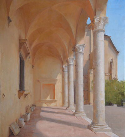 Kenny Harris, 'The Loggia of Palazzo Piccolomini Pienza (Italy series)', 2015