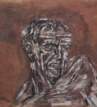 Leon Golub, 'Head IV', 1965