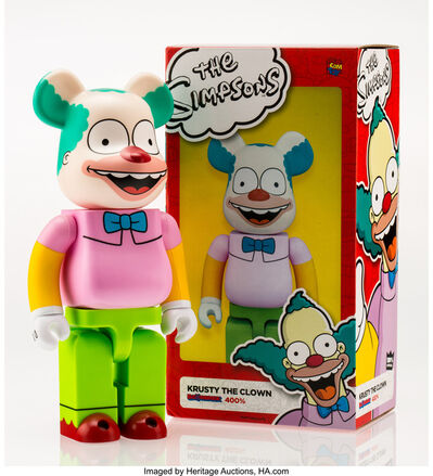 BE@RBRICK X The Simpsons, 'Krusty the Clown 400%', 2016