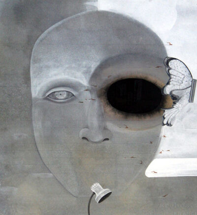 Anandajit Ray, ' Eye Object 1', 2005