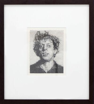 Chuck Close, 'Phil', 1976
