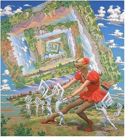 Robert Williams, 'The Persuasion of Right Angles', 2010
