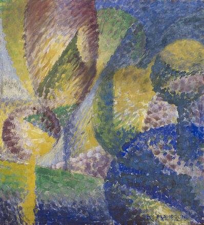 Enrico Prampolini, 'Sensazione cromatica di giardino', 1914