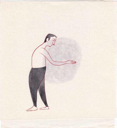 Buddhadev Mukherjee, 'Man 69', 2013