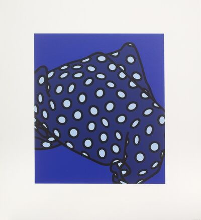 Patrick Caulfield, 'She'll Have Forgotten Her Scarf', 1973