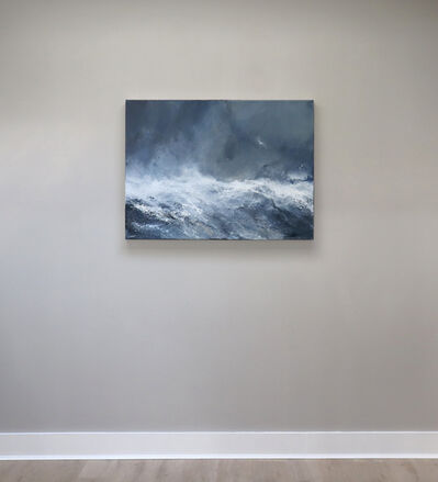 Janette Kerr, 'Sea state force 12 - Cresting waves and spray  ', 2020