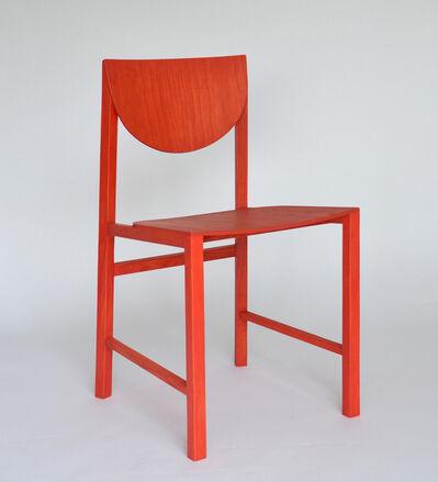 """Mette Schelde, '""""UU"""" chair', 2019"""